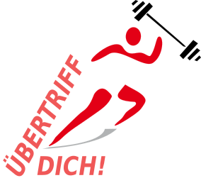 Übertriff Dich! Logo